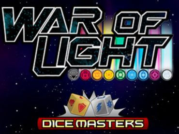 War of Light Dice Masters spotted at Origins