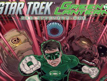 Star Trek / Green Lantern #4 Solicitation