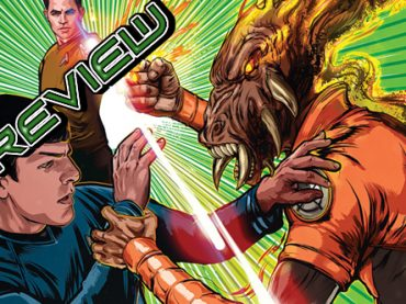Star Trek / Green Lantern #3 Review