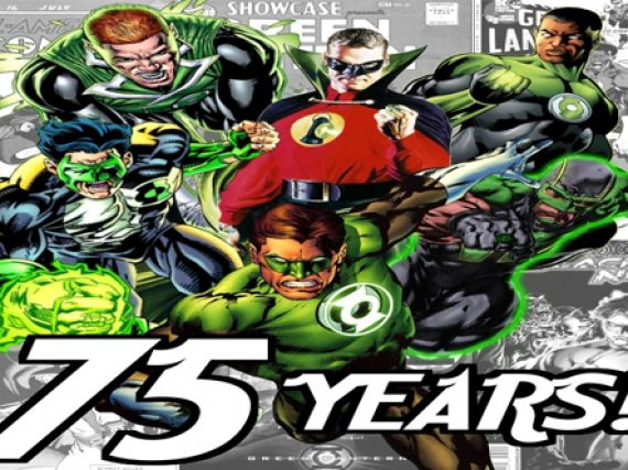 DC Comics GL 75th Video
