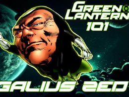 Green Lantern 101 – Galius Zed