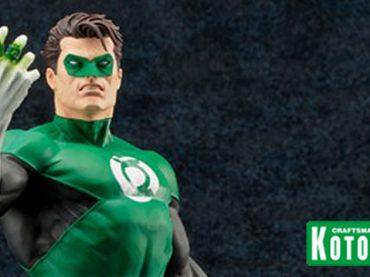 Kotobukiya adds Green Lantern to their Elite ARTFX Statue Line