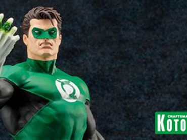 Kotobukiya adds Green Lantern to their Elite ARTFX Statue Line