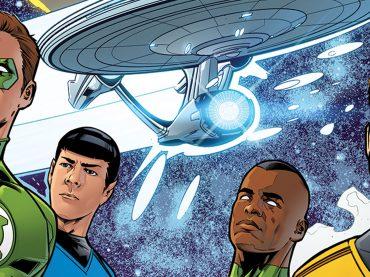 Green Lantern / Star Trek Vol. 2 #4 Solicitation