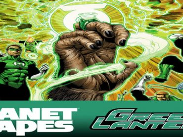 Green Lantern Goes Ape