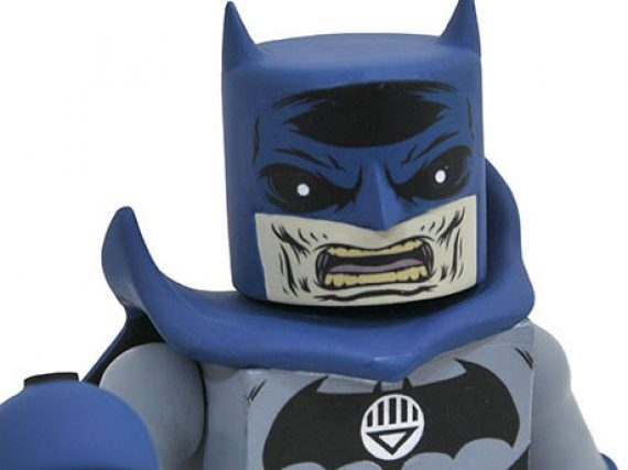 Black Lantern Batman the Next Blackest Night Vinimate