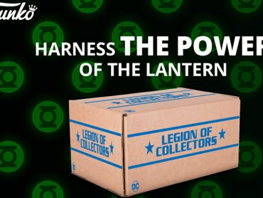 Green Lantern is the Legion of Collectors box for March