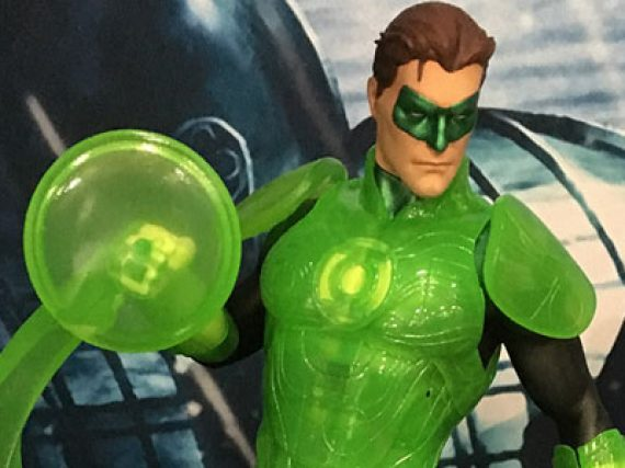 Green Lantern collectibles from Comic-con