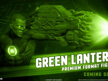 Sideshow Releases More John Stewart Statue Information