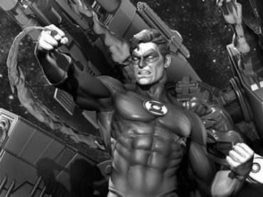 Upcoming XM Studios Green Lantern Statue is Glorious