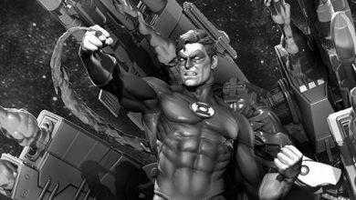 XM Studios and Tweeterhead Green Lantern Statues from NYCC