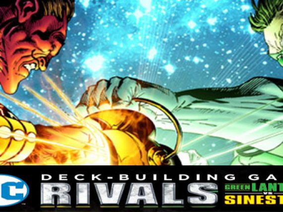 DC Rivals: Green Lantern vs. Sinestro Review and Giveaway