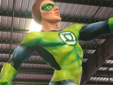 Green Lantern set to light up this year's Bacchus celebration