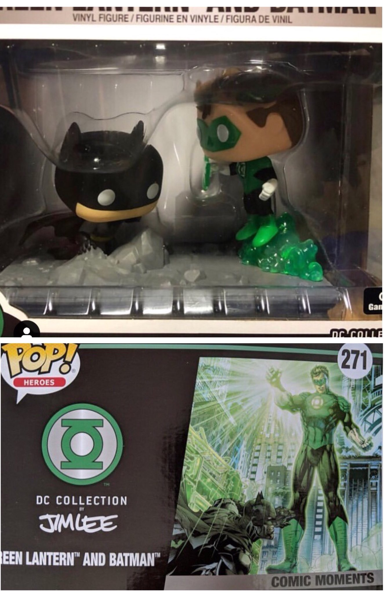 Funko Pop John Stewart Vinyl Figure Green Lantern