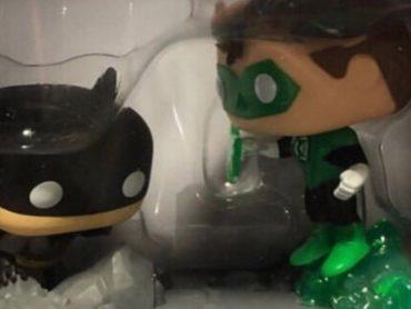 Green Lantern / Batman Jim Lee Funko Pop Coming to Gamestop