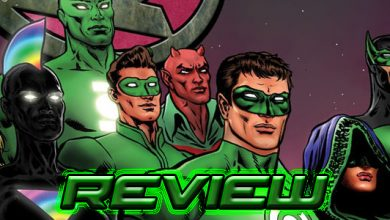 The Green Lantern #10 Review