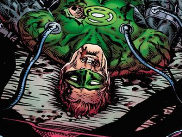 Green Lantern Comics Solicitations for August of 2020